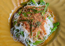 Thai food Noodle Royalty Free Stock Photography
