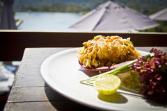 Thai Food - Pad Thai Royalty Free Stock Images
