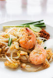 Thai food Pad thai Royalty Free Stock Photo