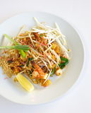 Thai food Pad thai royalty free stock photography