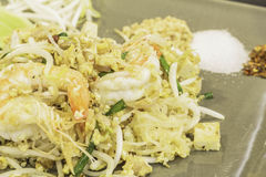 Thai food Pad thai, Stir fry noodles in padthai style. Thai food Pad thai, Stir fry noodles in padthai style, in thailand Royalty Free Stock Photos