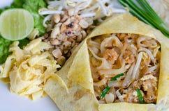 Thai food Pad thai Stock Photo