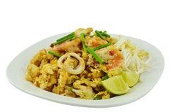 Thai food Pad thai Royalty Free Stock Photography