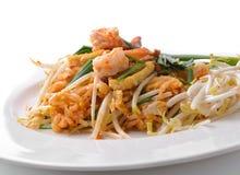 Thai food Pad thai , Stir fry noodles Royalty Free Stock Photos