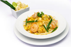 Thai food Pad thai , Royalty Free Stock Images