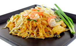 Thai food Pad thai Stock Photo
