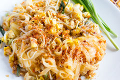 Thai food Pad thai. Thai food, Pad thai, Thai style noodles Stock Photography