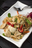 Thai Food Pad Woon Sen Stock Photos