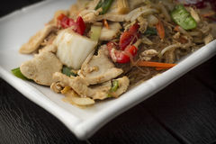 Thai Food Pad Woon Sen Stock Images