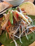 Thai Food. Papaya Salad, Thai Foods stock image