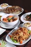 Thai food popular menu Stock Photo