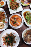 Thai food popular menu Stock Photo