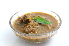 Thai food pork curry Royalty Free Stock Images