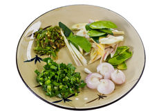 Thai Food Preparation Royalty Free Stock Photo