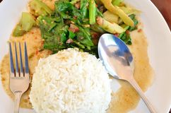 Thai food restaurant Royalty Free Stock Photography