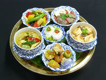 Thai food set menu Stock Images