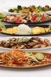 Thai Food set Royalty Free Stock Photo