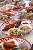 Thai food set Royalty Free Stock Images