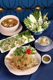Thai food set Stock Images