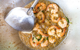 Thai food, shrimp Royalty Free Stock Photography