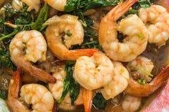 Thai food, shrimp Stock Photography