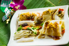 Thai Food. In thailand ,thai culture Royalty Free Stock Photo
