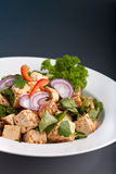 Thai Food Tofu Stir Fry Stock Photo