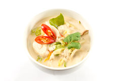 Tom kha gai Stock Photo