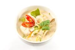 Tom Kha Kai Stock Photo