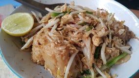 Thai food. Turmip  cake.noonle Stock Image