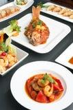 Thai Food Varieties Royalty Free Stock Photos