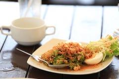 Thai food. Yam Tua Ploo a kind of Thai food Stock Images