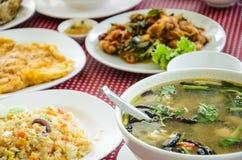 Thai foods, Thai cuisine Royalty Free Stock Photos