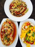 Thai foods Stock Photography