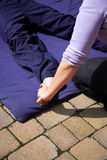 Thai foot massage Royalty Free Stock Images