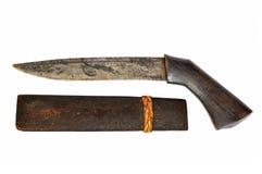 thai forntida kniv arkivbild