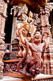 thai forntida skulptur Royaltyfri Foto
