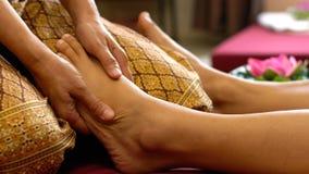 thai fotmassage arkivfoto