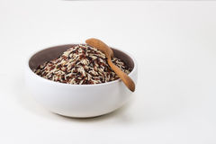 Thai Fragrant Rice in the bowl Royalty Free Stock Photo