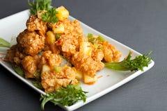 Thai Fried Calamari Stock Photos