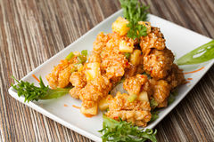 Thai Fried Calamari Royalty Free Stock Images