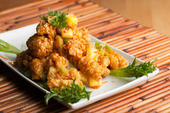 Thai Fried Calamari Royalty Free Stock Image