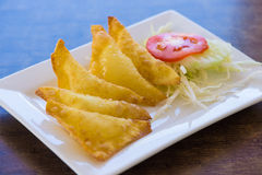 Thai fried dumpling Royalty Free Stock Photography