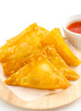 Thai fried dumpling Stock Photos