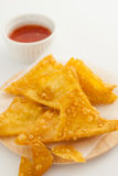 Thai fried dumpling Royalty Free Stock Photo