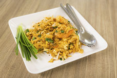 Thai fried noodle Royalty Free Stock Photos