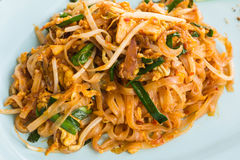 Thai Fried Noodles. Thai Food Royalty Free Stock Photography