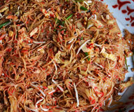 Thai Fried Noodles Royalty Free Stock Photo