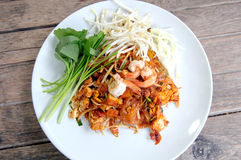 Thai Fried Noodles. Pad Thai Royalty Free Stock Image