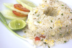 Thai fried rice. Royalty Free Stock Photo